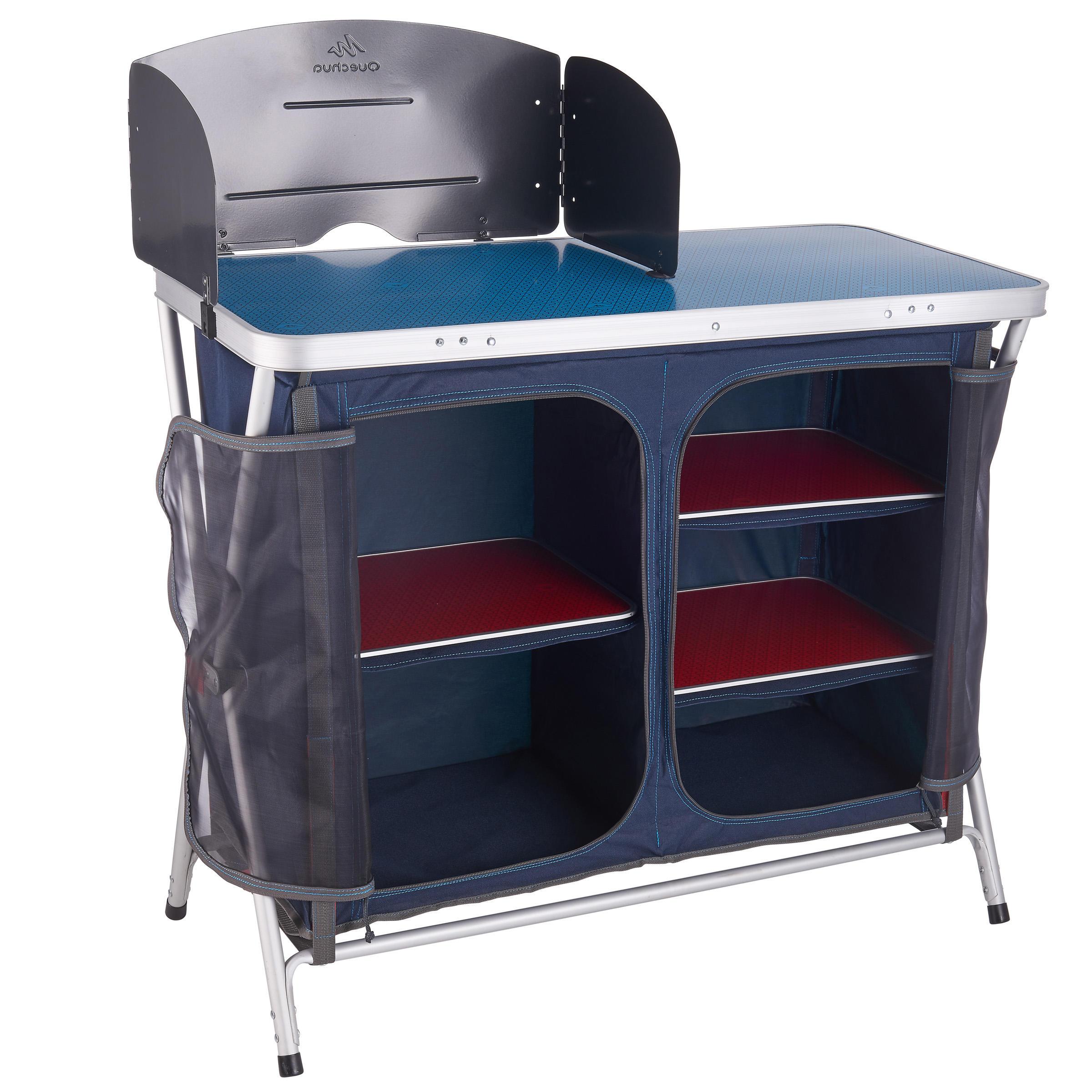 Camping/Hiking Kitchen Unit - Blue