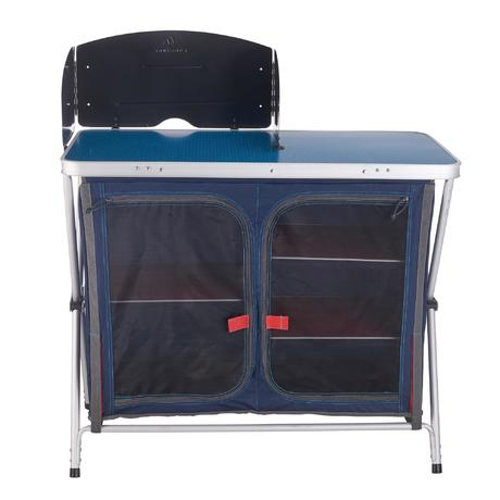 mobilier camping meuble de cuisine bleu quechua. Black Bedroom Furniture Sets. Home Design Ideas