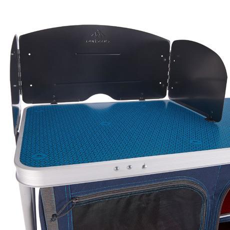 mobilier camping meuble de cuisine bleu quechua. Black Bedroom Furniture Sets. Home Design Ideas