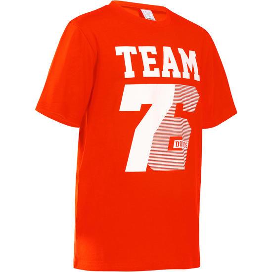 Jongens T-shirt met korte mouwen en opdruk voor gym - 757768