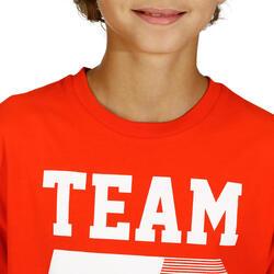 T-shirt met korte mouwen en print gym jongens - 757769