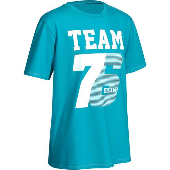 T-shirt met korte mouwen en print gym jongens - 757770