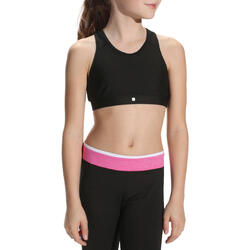Kort gym topje Energy voor meisjes - 757940