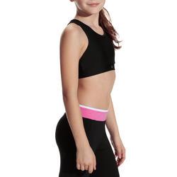 Kort gym topje Energy voor meisjes - 757941
