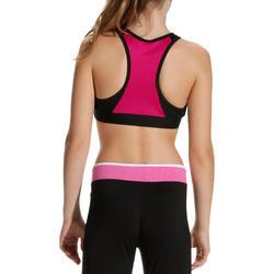 Kort gym topje Energy voor meisjes - 757945