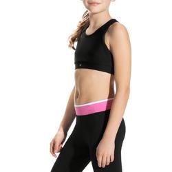 Kort gym topje Energy voor meisjes - 757946