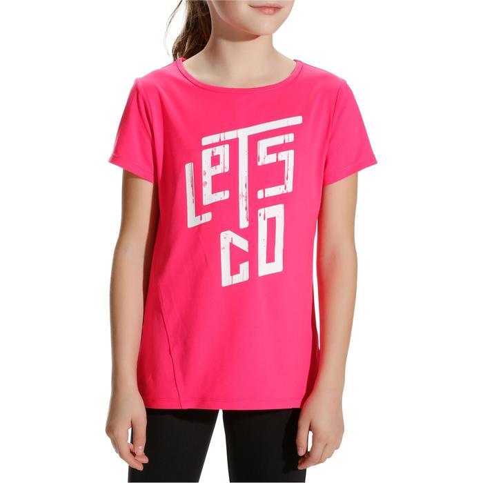 Tee shirt printé BREATHE fille gym - 758105