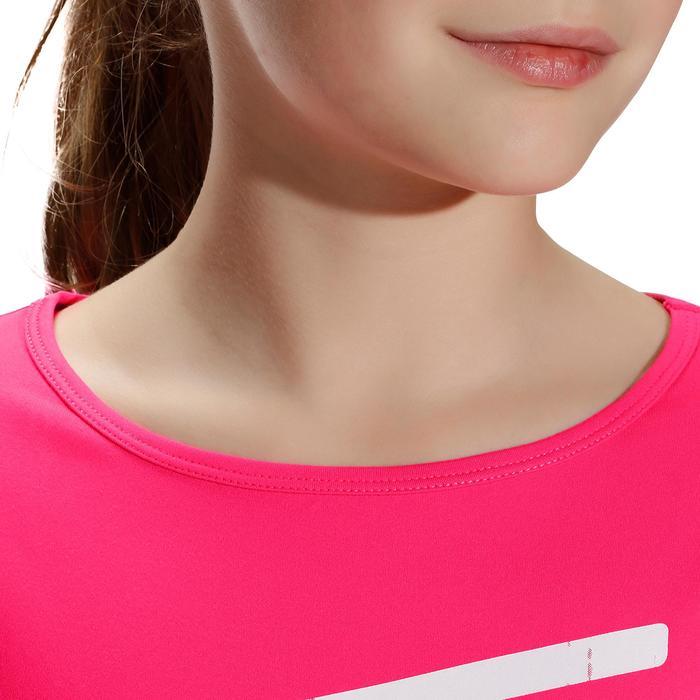Tee shirt printé BREATHE fille gym - 758114