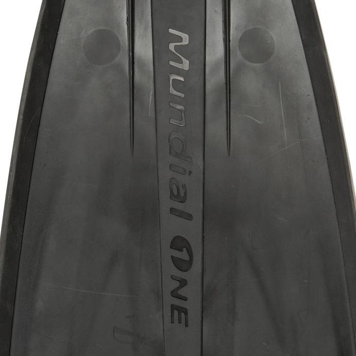 Zwemvliezen voor freediving Mundial One 50 zwart