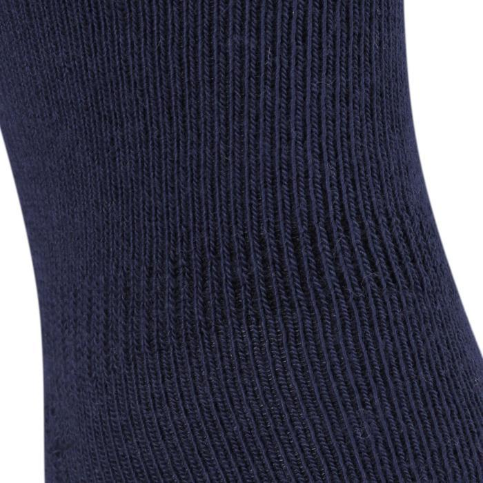 Lot de 2 paires de chaussettes antidérapantes Bébé Gym marine chiné - 758473