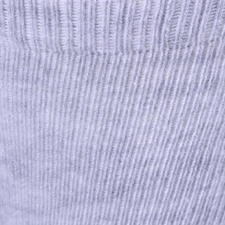 Нековзкі спортивні шкарпетки 500 для малят, 2 пари - Сині/Сірі