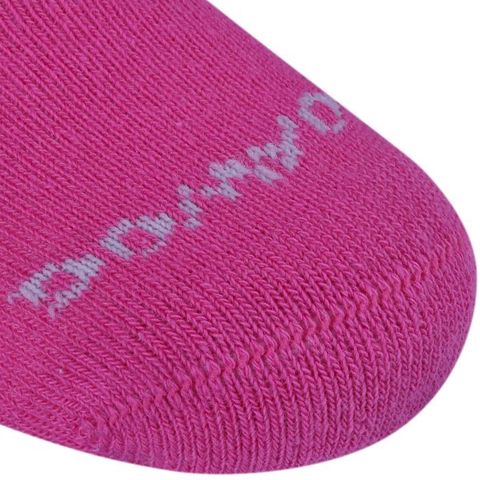 Lot de 2 paires de chaussettes antidérapantes Bébé Gym marine chiné - 758487