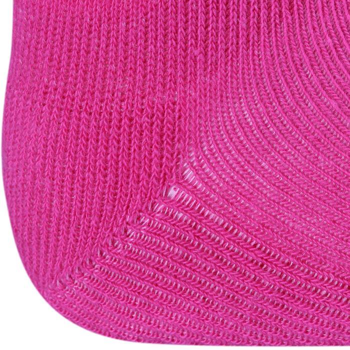 Lot de 2 paires de chaussettes antidérapantes Bébé Gym marine chiné - 758490