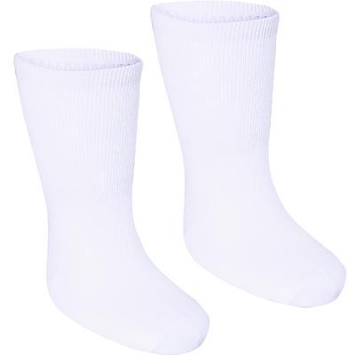 מארז גרביים לתינוקות באורך בינוני דגם 100 - לבן