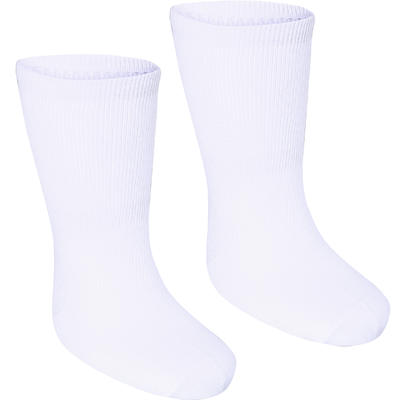 100 Mid Gym Socks Twin-Pack - White