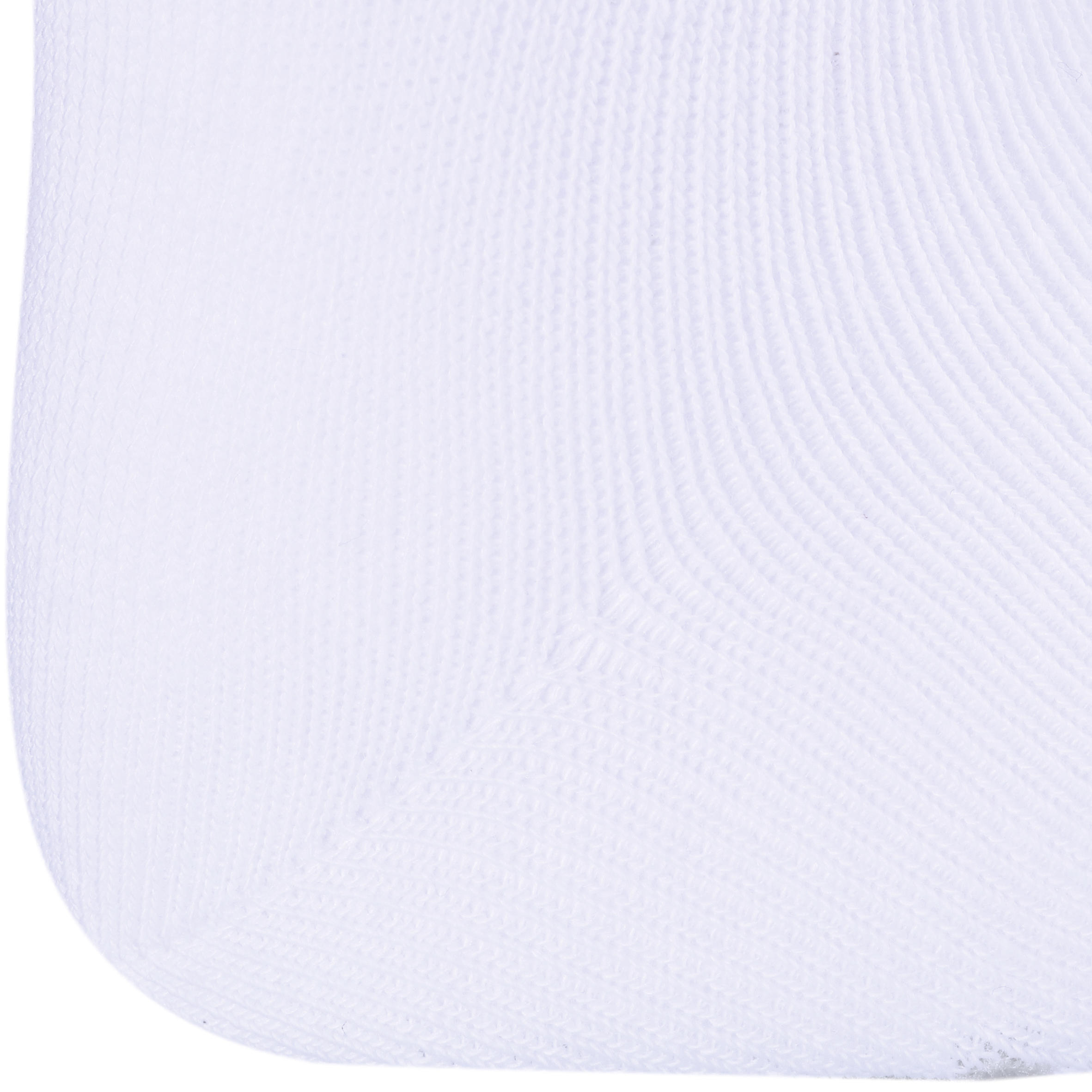 100 Mid-Length Gym Socks Twin-Pack - White