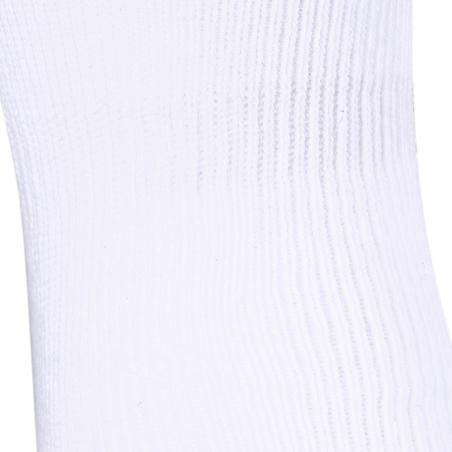 Шкарпетки 100 середньої довжини для фітнесу, 2 пари - Білі