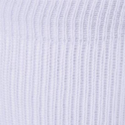 زوج جوارب رياضية متوسطة الطول 100 - أبيض
