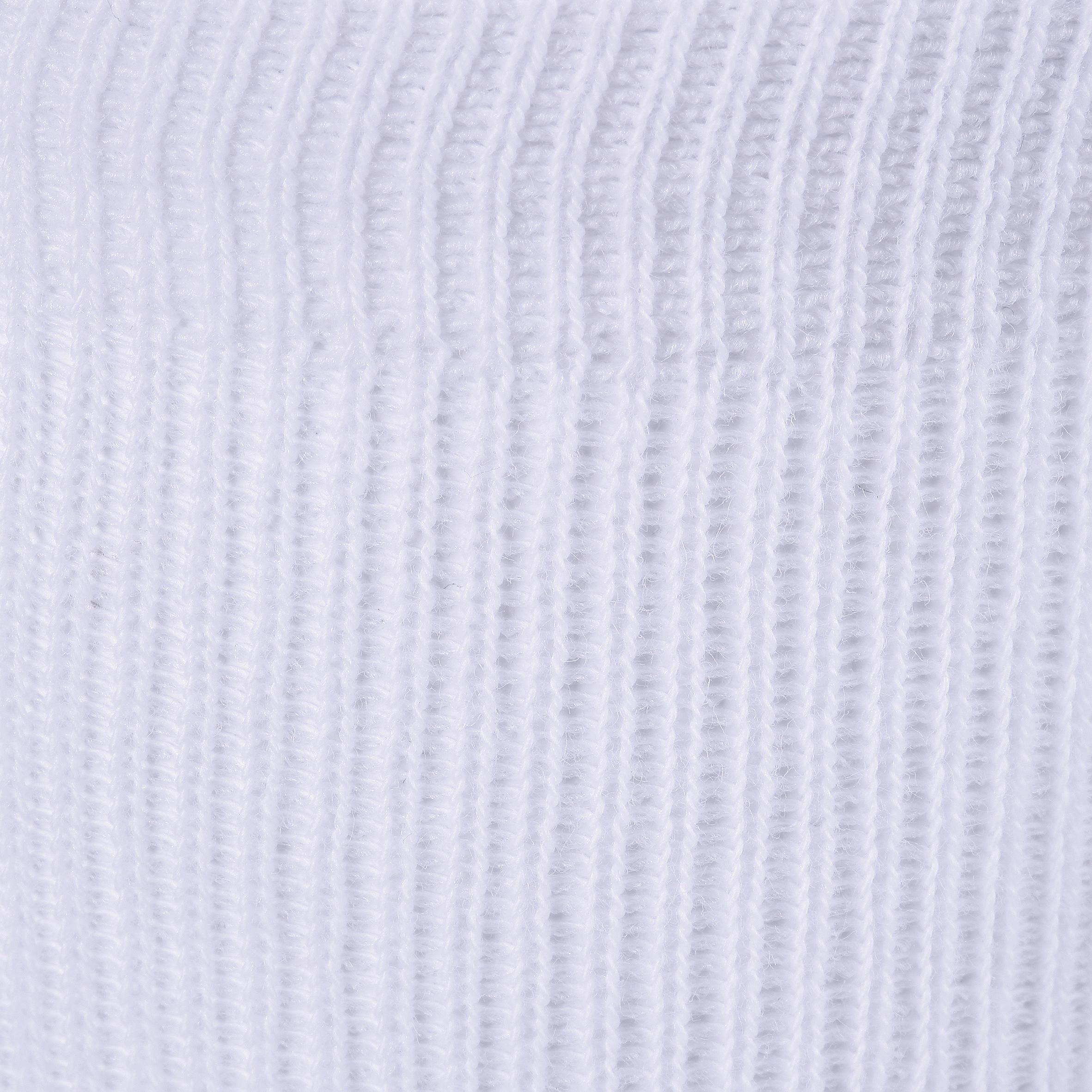 Chaussettes 100 MI-HAUTES LOT DE 2 GYM blanc