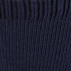 Calcetines 500 ANTIDESLIZANTES LOTE 2 GIMNASIA azul marino/gris jaspeado