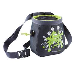 CHALK BAG CHALK BARRIER SIZE L BLACK-GREEN