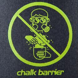 CHALK BARRIER KEEP CLEAN
