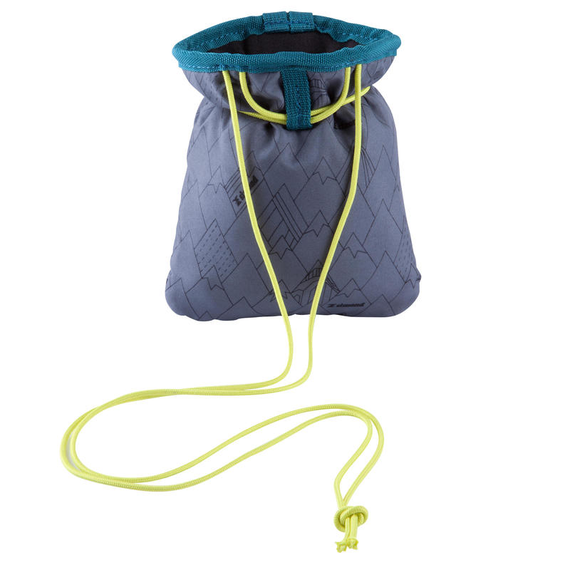 Climbing And Mountaineering CHALK BAG ESSENTIAL SIZE M GREY