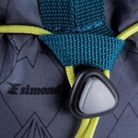 CLIMBING CHALK BAG KLIMB SIZE M - GREY