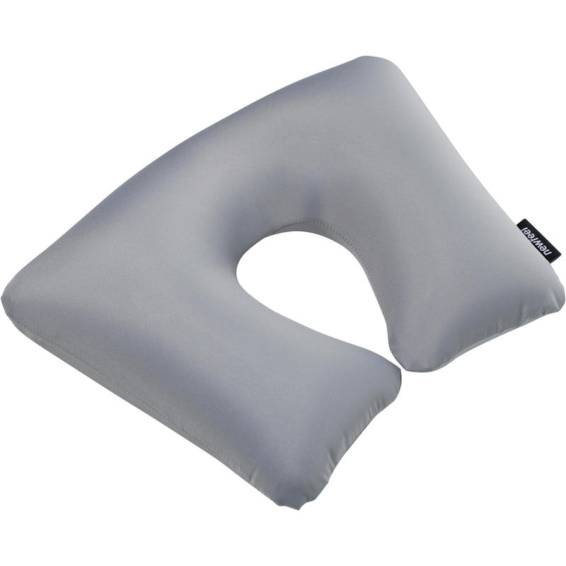 Inflatable Travel Cushion - Grey