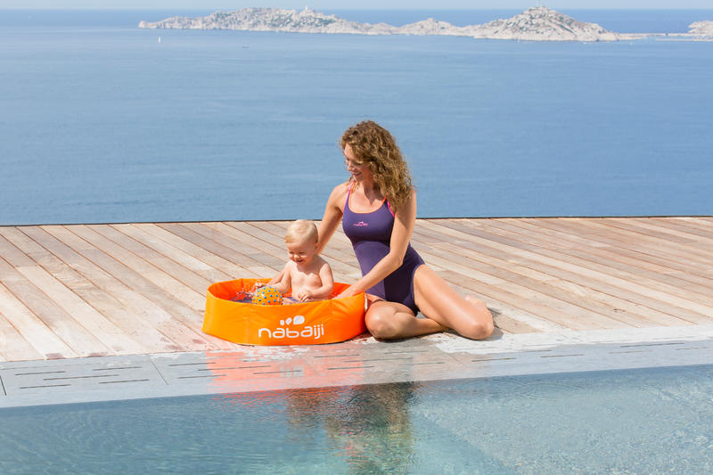 petite piscine enfant tidipool basic orange. Black Bedroom Furniture Sets. Home Design Ideas