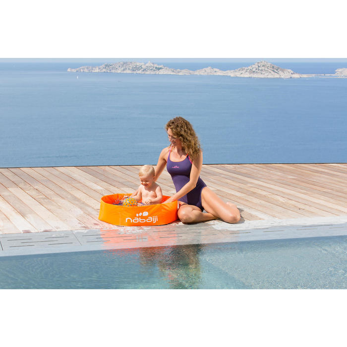 Piscinette enfant TIDIPOOL BASIC orange - 758963