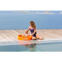 Zwembadje voor kinderen Tidipool Basic oranje