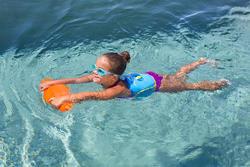 Aanpasbare zwemgordel van kinderen van 15-30 kg die leren zwemmen - 758966