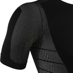 Keepdry 500 兒童款透氣長袖底層衣 - 黑色