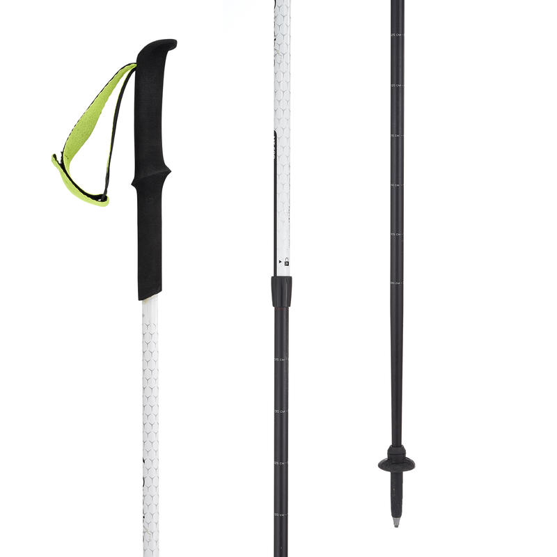 1 bi-section FH500 Quick Hiking Pole - White