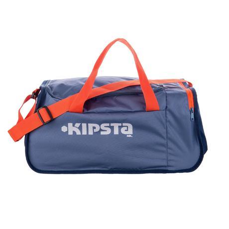 sac de sports collectifs kipocket 40 litres bleu gris kipsta. Black Bedroom Furniture Sets. Home Design Ideas