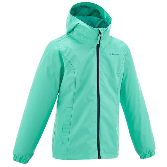 Regenjas voor trekking meisjes Hike 500 - 759337