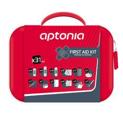 EHBO-kit voor wandel- en trektochten 31-delig rood