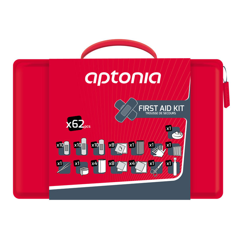 APTONIA first aid kit - 62 items