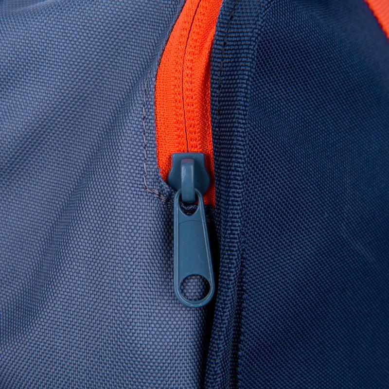 Bolso deportivo colectivo Kipocket 40 litros azul gris