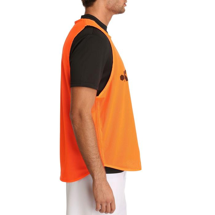 Chasuble réversible rugby bleue orange - 759522