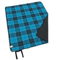 Hiking furniture plaid - blue