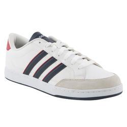 Sportschoenen heren vlset wit/rood