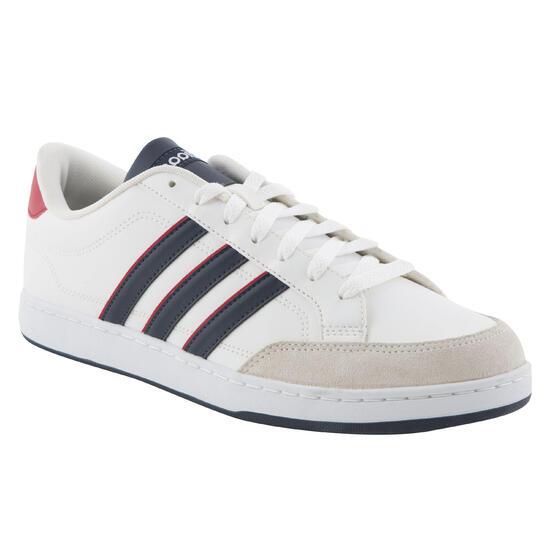 Sportschoenen heren vlset wit/rood - 760396