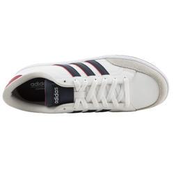 Sportschoenen heren vlset wit/rood - 760401