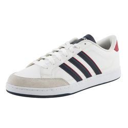 Sportschoenen heren vlset wit/rood - 760403