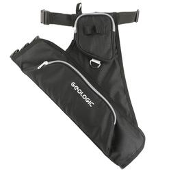 Club 700 Left Hand Archery Quiver - Black