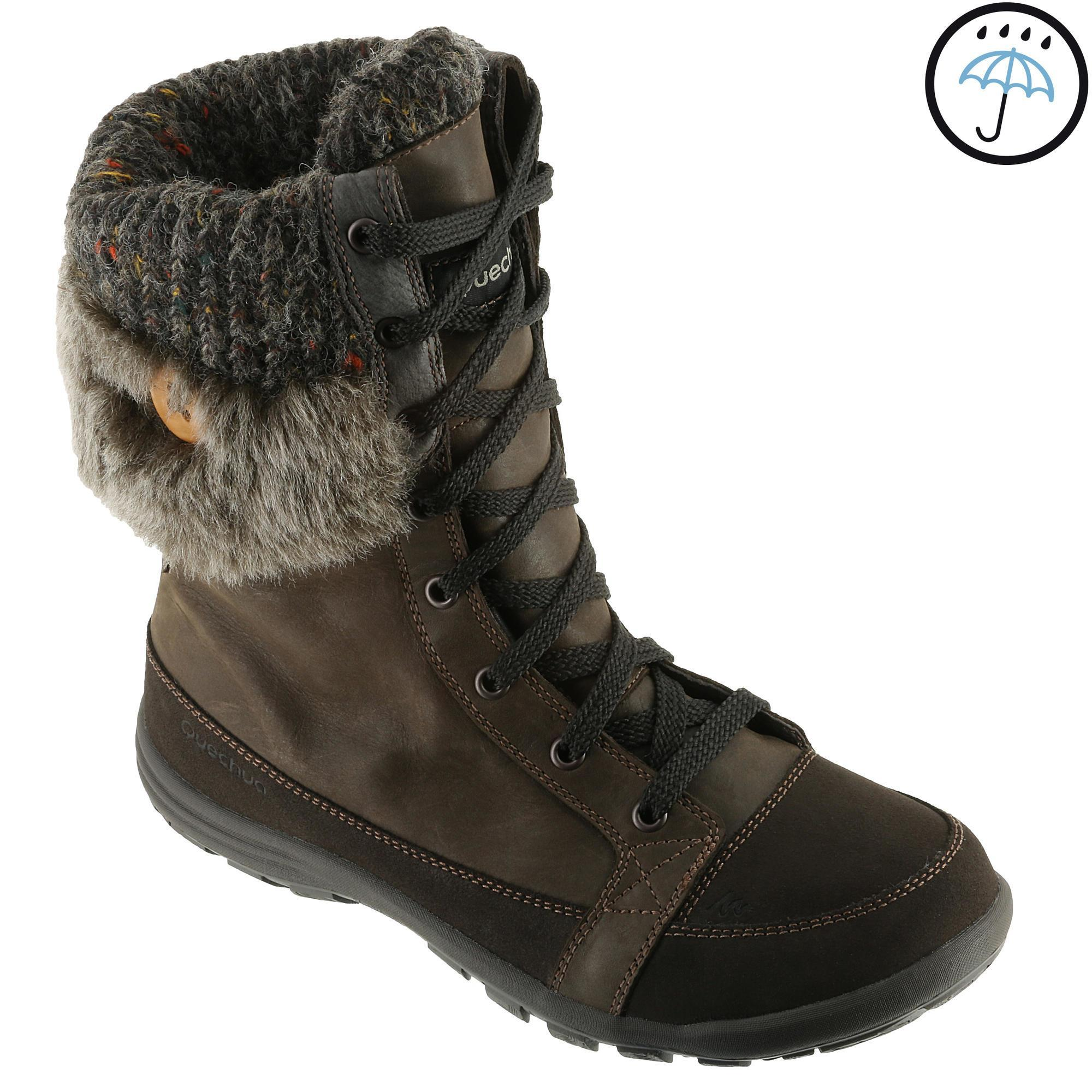 Arpenaz 700 Warm Waterproof Women S Hiking Boots Brown