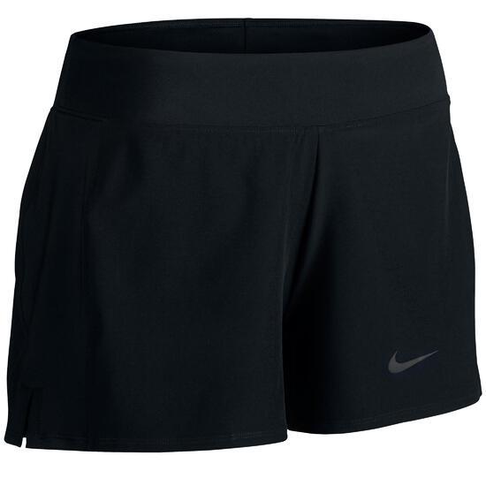 Damesshort Nike Baseline zwart tennis/padel/tafeltennis/badminton/squash - 760604