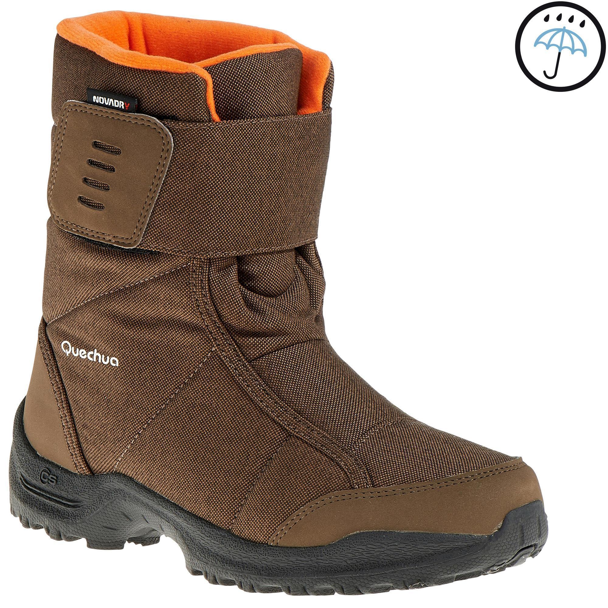 Types Of Mattresses >> Quechua Arpenaz 100 Warm Novadry Children's hiking boots ...